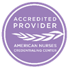 ANCC logo for nurse cert